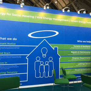 Our stand CIH Housing Exhibition