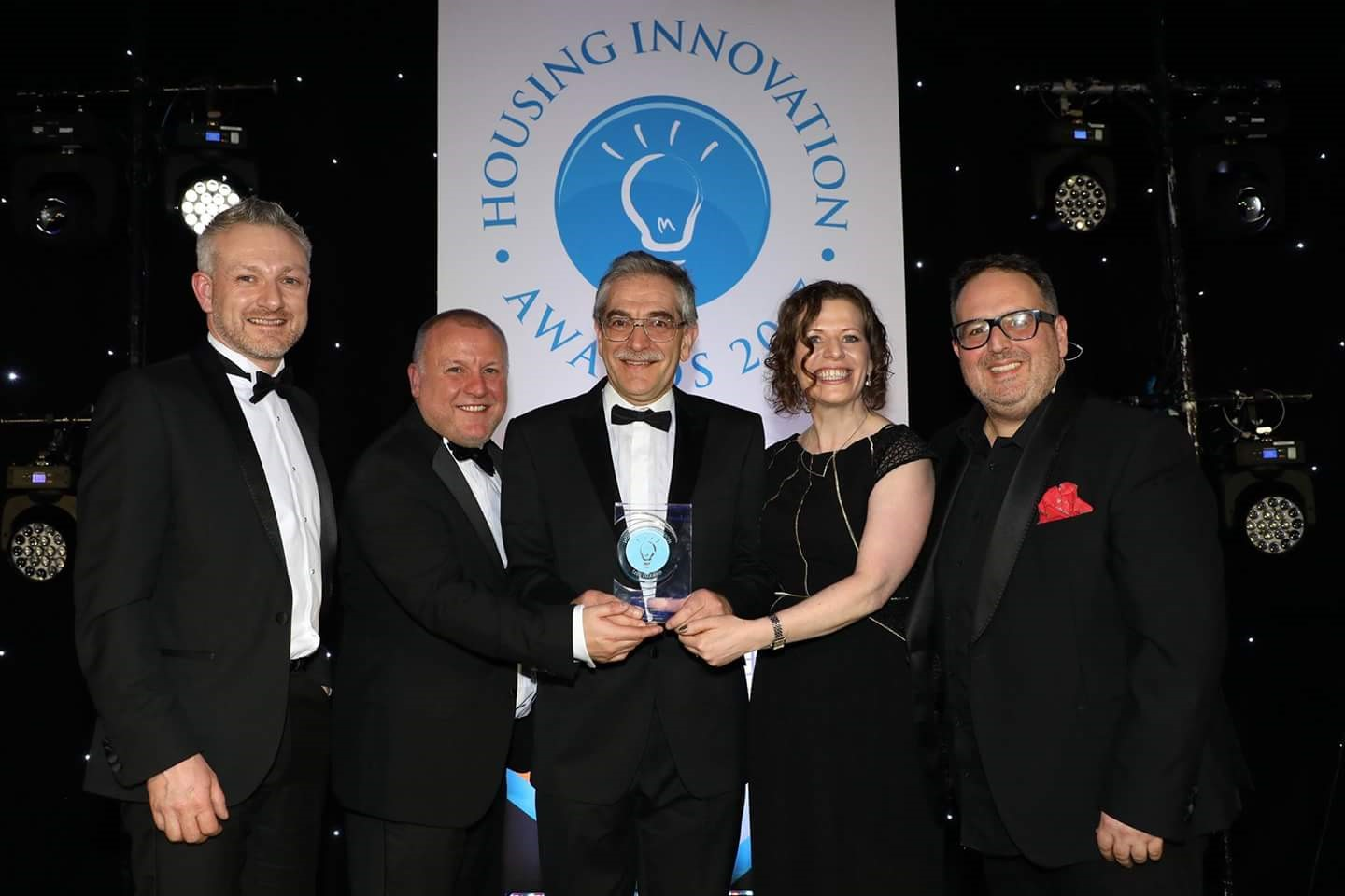 Energy Angels sponsor Most Innovative Housing Association for 10,000 + homes (large)